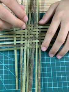 【四年級】探索-竹編杯墊完成品