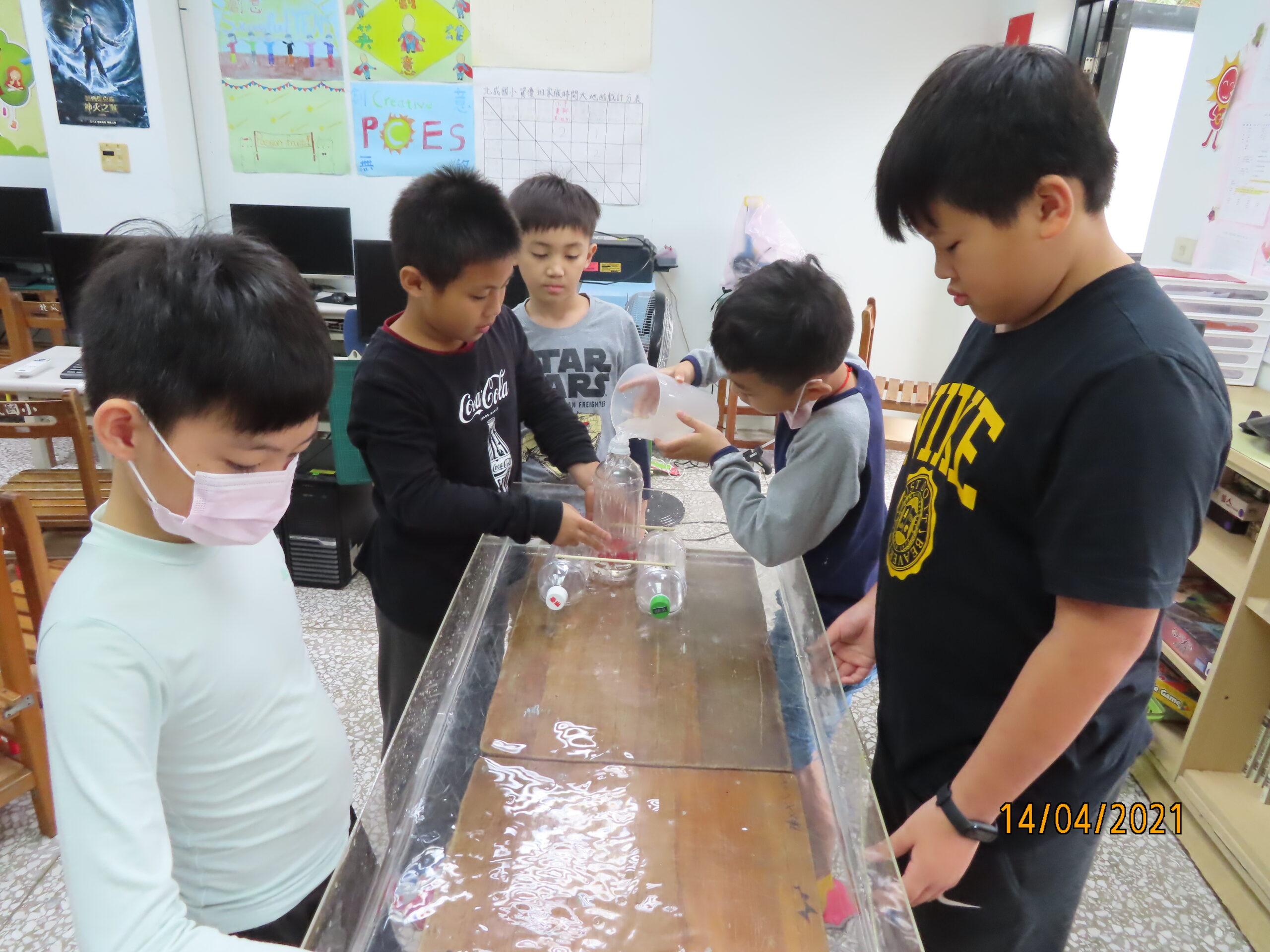 【三年級】發現科學-水力船