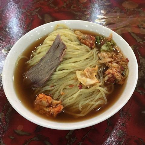 2016-07-05 14.02.15 西塔大冷麵 麵條確實硬了點 但湯不錯喝